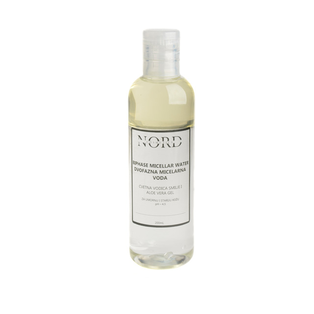 Nord Cosmetics. Handmade natural skin care. Biphase micellar water