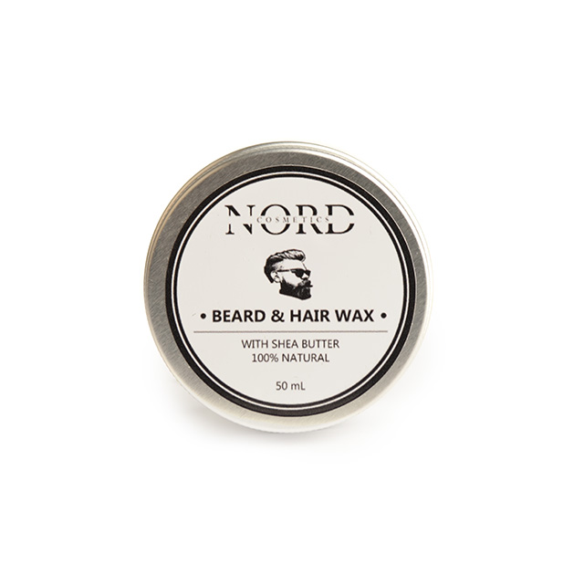Nord Cosmetics. Handmade natural skin care. Beard and Hair Wax