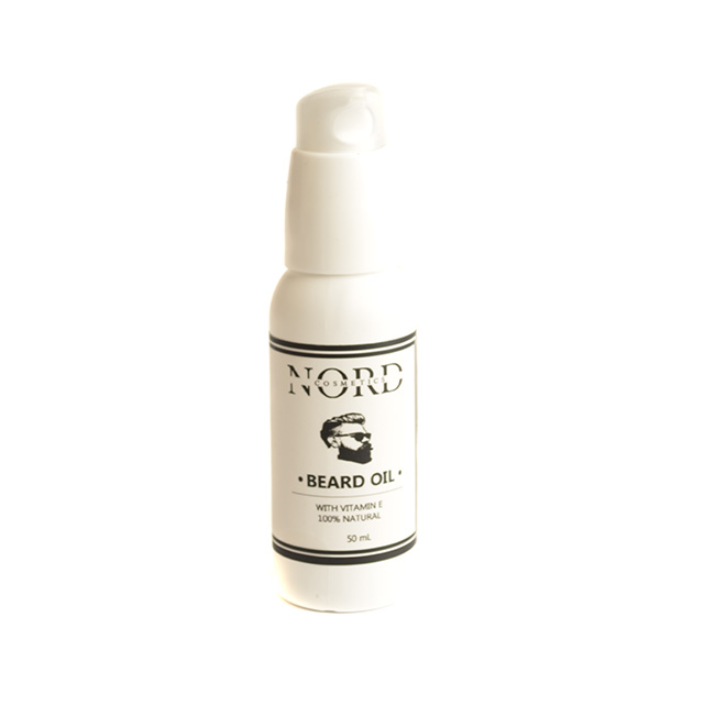 Nord Cosmetics. Handmade natural skin care. Beard Oil