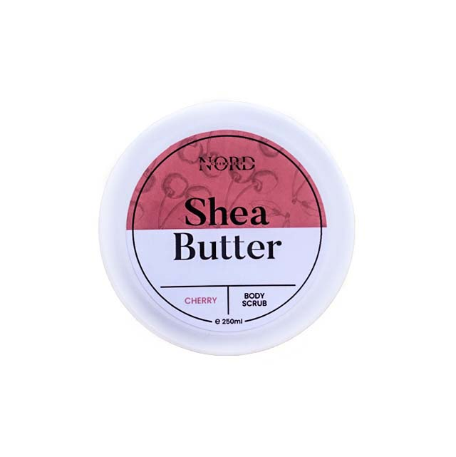 Shea Butter Body Scrub - Cherry